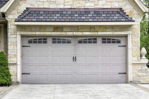 traditional 2 car garage