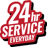 24 hour service every day