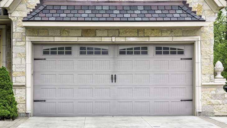 Exterior of Garage Door