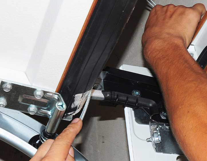 Replacing a garage door